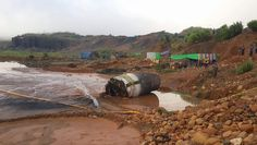 Μεταλλικό κομμάτι έπεσε από τον ουρανό σε ορυχείο στη Μιανμάρ