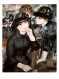 Two Women Giclee Print by Pierre-Auguste Renoir at Art.com