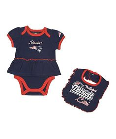 Someone in my house thinks they re putting this Infant New England Patriots  Skirted Bodysuit 6d073c66c