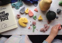 cute idea for book tie in playdoh and recipe