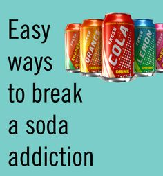 "Kick your soda addiction to the curb! Dreading this ""goal"" this summer. Coca Cola Addiction, Soda Addiction, Stop Drinking Soda, Quit Drinking, Nutrition Tips, Fitness Nutrition, Get Healthy, Healthy Tips, Treating Insomnia"