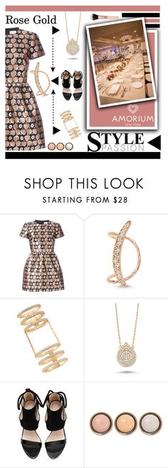 """""""Rose Gold (Amorium #2)"""" by shambala-379 ❤ liked on Polyvore featuring RED Valentino, Amorium, By Terry, women's clothing, women's fashion, women, female, woman, misses and juniors"""