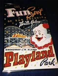 Playland Park, San Antonio, Tx.  No longer in operation, I would go every Easter and hunt for eggs. Then ride the kiddie train.