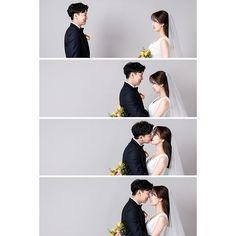 Pre Wedding Poses, Pre Wedding Photoshoot, Wedding Couples, Cute Couples, Korean Wedding Photography, Wedding Couple Poses Photography, Photography Poses, Ulzzang, Cute Couple Outfits