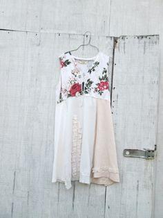 medium  large Upcycled clothing / Funky Dress / Eco by CreoleSha