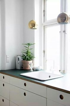 Sink and work top
