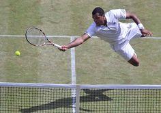 Jo-Wilfred Tsonga (France) - 2011 Wimbledon Gentlemen's Singles Semifinal
