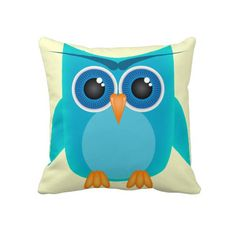 Love their owl pillows, but kinda pricey for a small pillow. I bet I could make make a similar one for less than 1/3 of that price