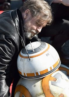 Mark Hamill & BB8