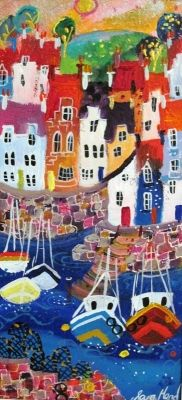 Lobster Pots by Sara Mead