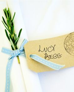 """See the """"The Place Settings"""" in our A Whimsical Outdoor Destination Wedding in England gallery"""