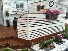 Mobile Home Decorating, Diy Home Decor, Outdoor Spaces, Outdoor Decor, Fence Design, Creative Home, Bars For Home, Garden Inspiration, Pergola