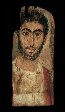 Al fayoum mummy portraits 100CE - 300CE Fayum / Romano-Egyptian / Roman / EncausticMore Pins Like This At FOSTERGINGER @ Pinterest