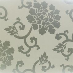 dushak - silver wallpaper | Designers Guild