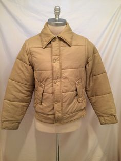 70s Vintage Outerwear from Sears convertible jacket/vest, Size M, with removable arms