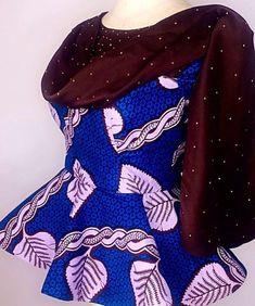 ankara peplum blouse and skirt styles Ankara Peplum Tops, Ankara Skirt And Blouse, Peplum Blouse, African Wear, African Dress, Ankara Long Gown Styles, Ankara Styles, Shweshwe Dresses, Ankara Designs