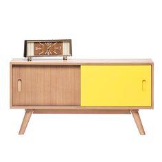 Yellow Scandinavian Style Sideboard - Retrojan - Retrojan