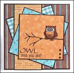 Owl Miss You Alot   deesdesigns