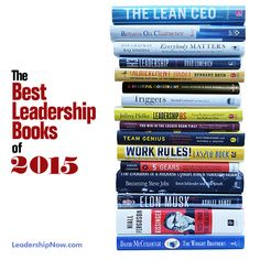 Best Leadership Books of 2015