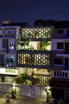 Binh Thanh House ~ Vo Trong Nghia Architects + Sanuki + Nishizawa architects