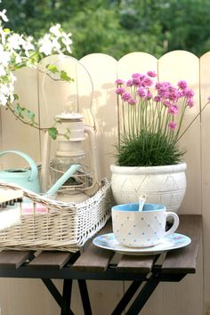 My little white Home: Balkon