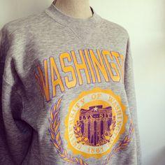 Vintage University Of Washington Sweatshirt 50