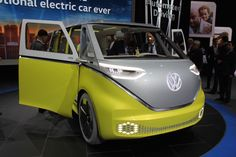 Groovy, baby! VW brings the spirit of the hippie bus into the 21st century