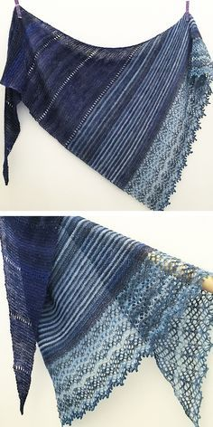 Ravelry: Spotlight shawl in Lang Yarns Mille Colori Socks & Lace Luxe - knitting pattern by Woolenberry.
