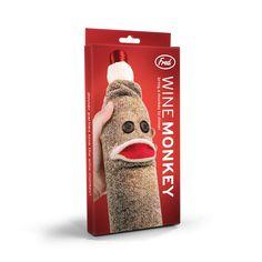 Wine Monkey Bottle Caddy