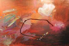 acrylic and oil on canvas - by Joanna Staniszewski - my Janna Watson inspired painting :)