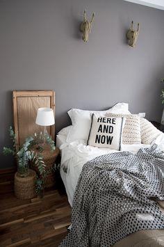Macarena Gea home Easy Home Decor, Grey Interior Design, Home, Bedroom Makeover, Home Bedroom, Bedroom Interior, Home Deco, House Interior Decor, New Room