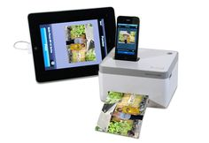 iPhone Photo Cube Printer.....I WANT THIS!!!!!!