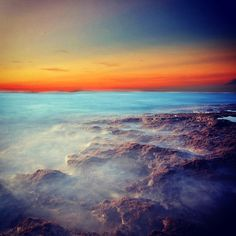 unpredictable... please follow @IGnesia to see our other works.. #ig_nesia #beach #sky #sea #happy_pop #webstagram #statigram #james_favourites #teg #bali #longexposure #alasslow #sunset