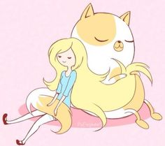 Adventure Time Fionna and Cake