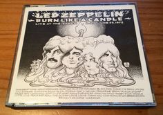 Led Zeppelin Live - Burn Like A Candle - Original Smoking Pig - L.A. Forum 1972 #Rock