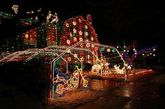 huge christmas lights   The Giggling Truckers Wife: Once Upon a Christmas- BFF 146