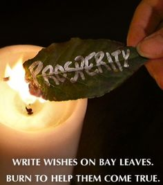easy spells can be used from bay leaves