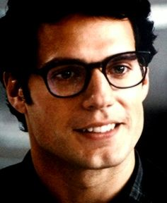 Henry Cavill as Clark Kent. Stop it now.