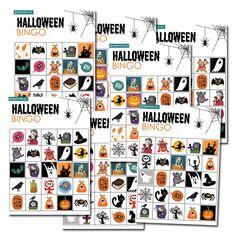 Ladda hem & skriv ut gratis! Vi bjuder på vårt härliga Halloweenkit! Beställ det som vanligt på grapevine.nu och skriv in rabattkoden HALLOWEENGODIS när du kommer till kassan (i fältet för rabattkod). Ladda hem och pyssla loss! #halloweenpyssel #bingo #pyssel Halloween Bingo, Halloween Make, Photo Wall, Prints, Pranks, Photograph