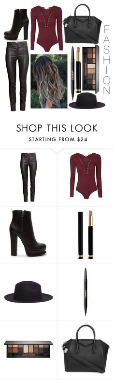 """F.A.S.H.I.O.N"" by leonorgomes on Polyvore featuring H&M, Forever 21, Gucci, MANGO, tarte, Smashbox and Givenchy"