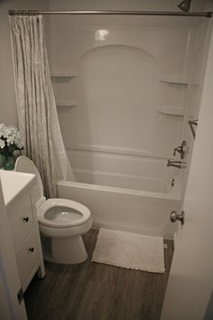 Second bathroom after