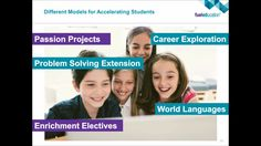 eSchool News YouTube vid: Diverse Learners Webinar Series Part 2: Accelerated Learners #edtech