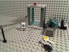 LEGO-AIRPORT-SECURITY-CHECKPOINT-Body-Scanner-Luggage-Baggage-X-Ray-Computer-LAX