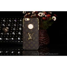 Luxury Real Louis Vuitton iPhone 6 / 6 Plus Leather Wallet Cases  - Replica Price