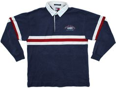 Grubby Mits — Vintage Tommy Hilfiger Rugby Shirt Size XL