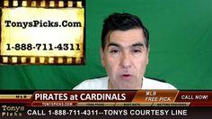 Pittsburgh Pirates vs. St Louis Cardinals Pick Prediction MLB Baseball O...