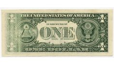 """$1 Series 1988A United States Federal Reserve Note """"Error"""" FR 1915 F"""