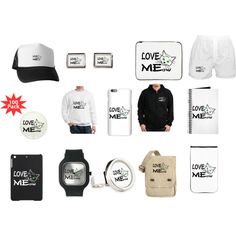 Love MEow by polyart-466 on Polyvore featuring men's fashion and menswear