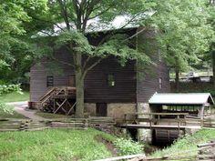 Gastons Mill in Beaver Creek State Park Buckeye Tree, The Buckeye State, East Liverpool, Ohio Buckeyes, Camping In Ohio, Big Town, Northwest Territories, Beaver Creek, Old Photos