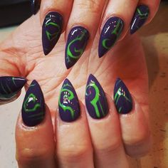 World of Warcraft Nail Art                                                                                                                                                                                 More